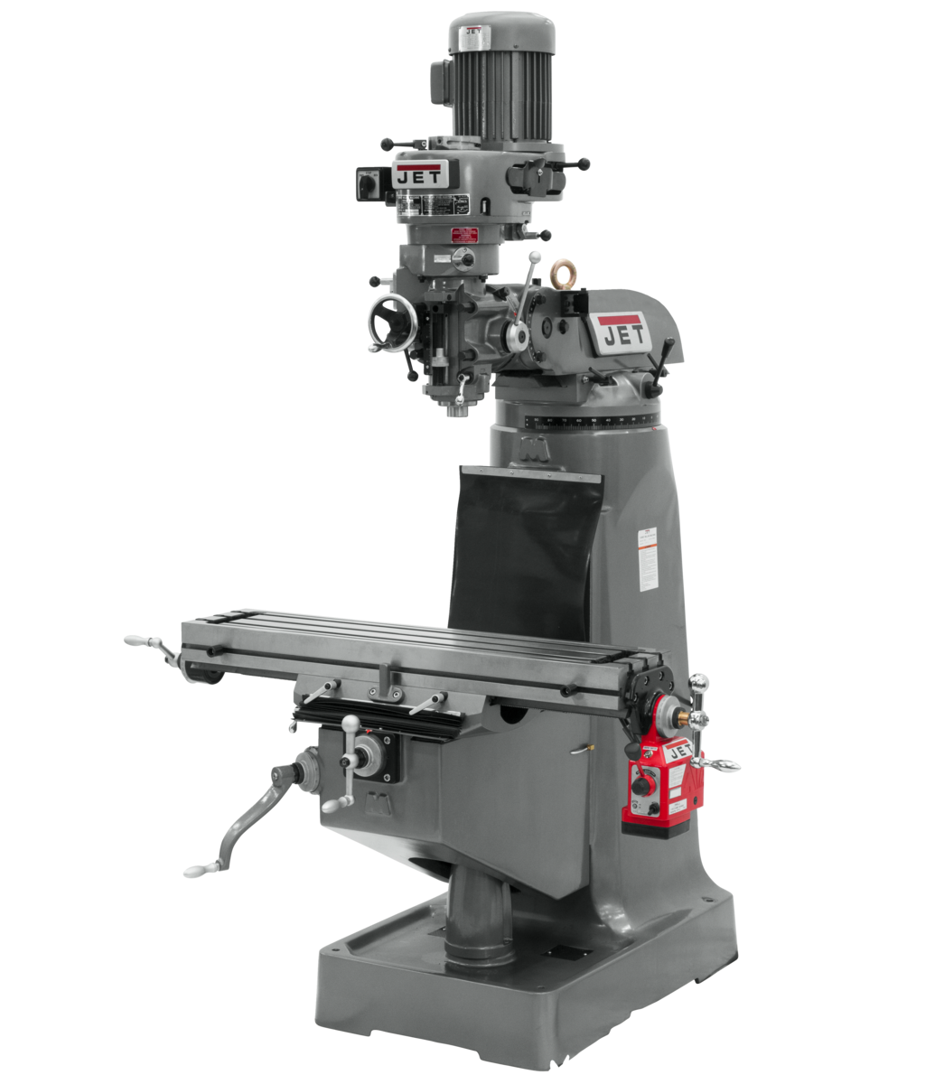 JTM-1 Mill With X-Axis Powerfeed