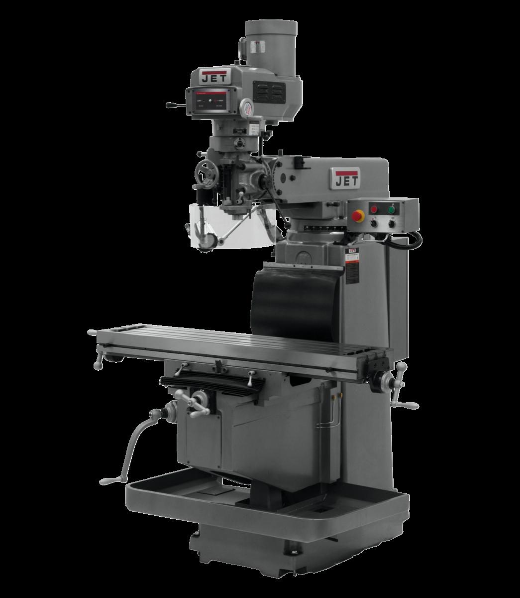 JTM-1254RVS Variable Speed Vertical Mill Machine 230/460V, 3Ph