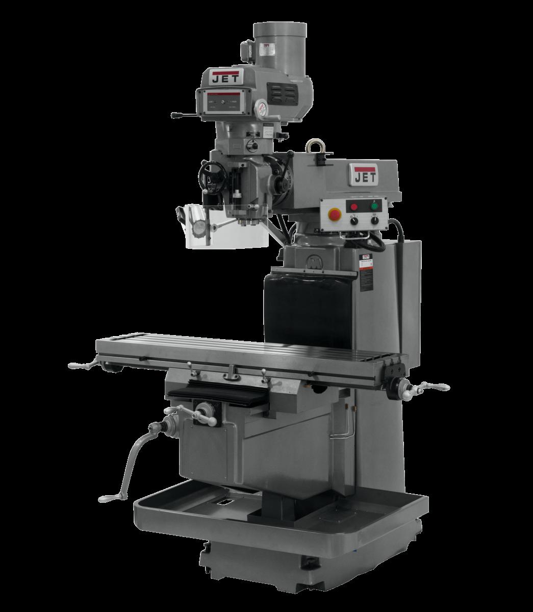 JTM-1254VS Variable Speed Vertical Mill Machine 230/460V, 3Ph