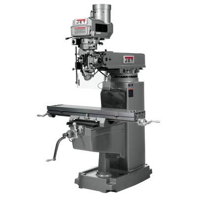 JTM-1050VS2 Mill With X and Y-Axis Powerfeeds