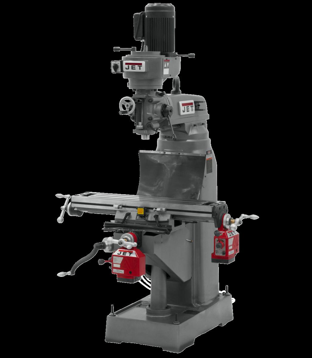 JTM-836 Fresadora con alimentación automática eje X y eje Y instaladas
