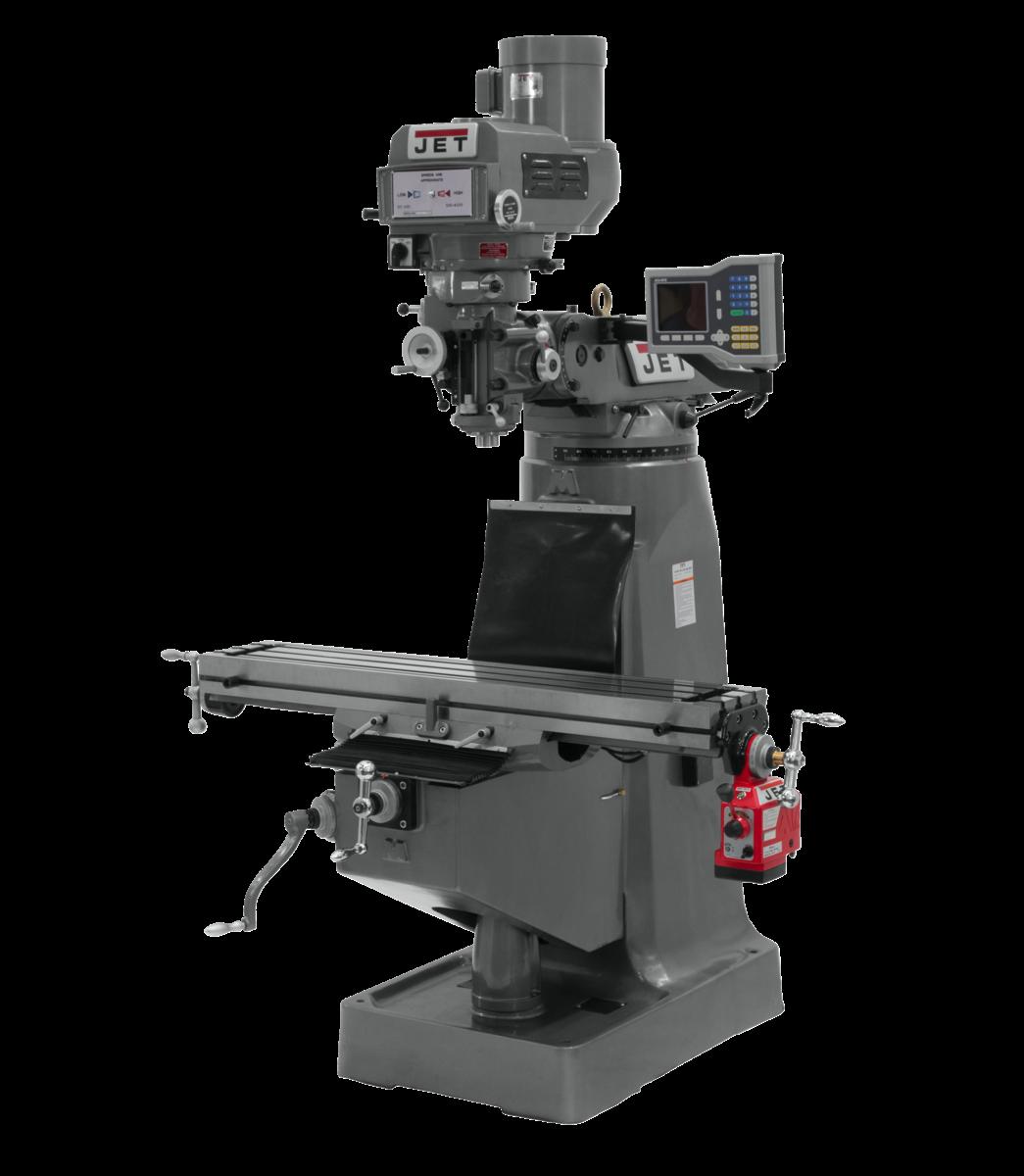 JTM-4VS-1 Fresadora con visualizador de posición digital 300S y TPFA eje X