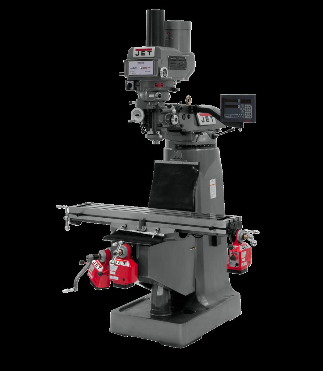 JTM-4VS-1 W/DP700 3-AX Q DRO X,YZ, D BAR