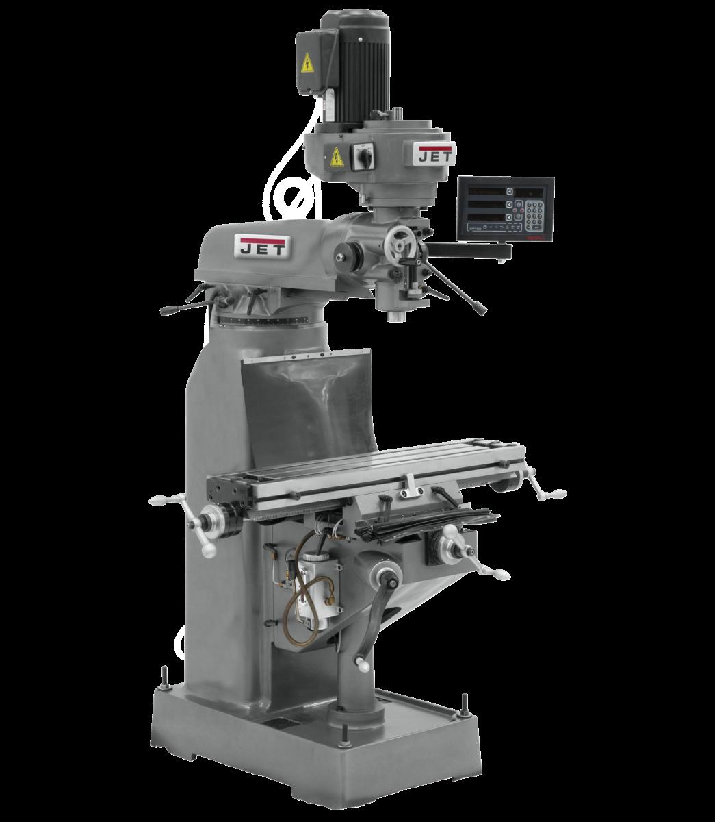 Fresadora JVM-836-3 con visualizador de posición digital DP700