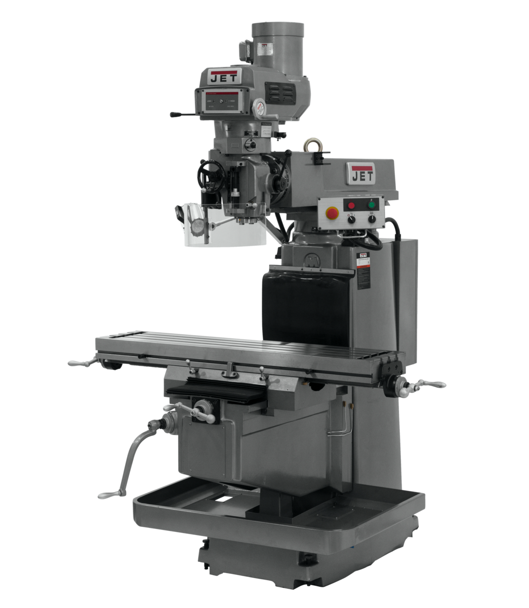 JTM-1254VS with 3-Axis ACU-RITE G-2 MILLPOWER CNC with Air Power Drawbar