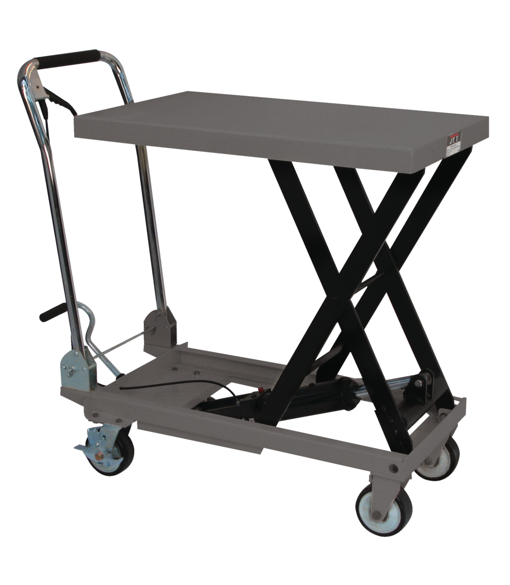 SLT-330F, Scissor Lift Table With Folding Handle