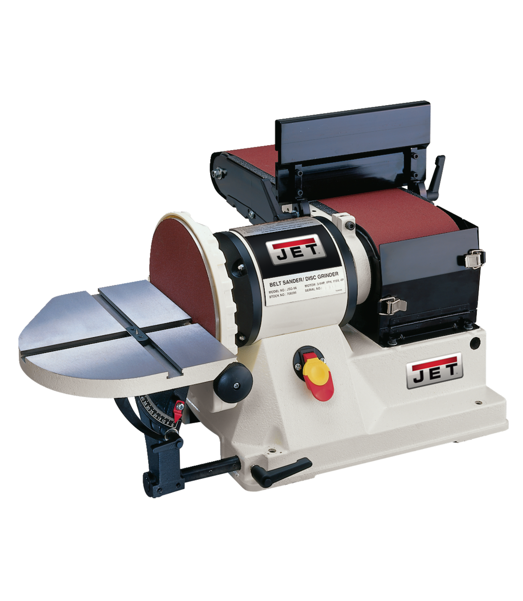 "JSG-96, Benchtop 6"" x 48"" Belt / 9"" Disc Sander, 3/4HP 1Ph, 115V"