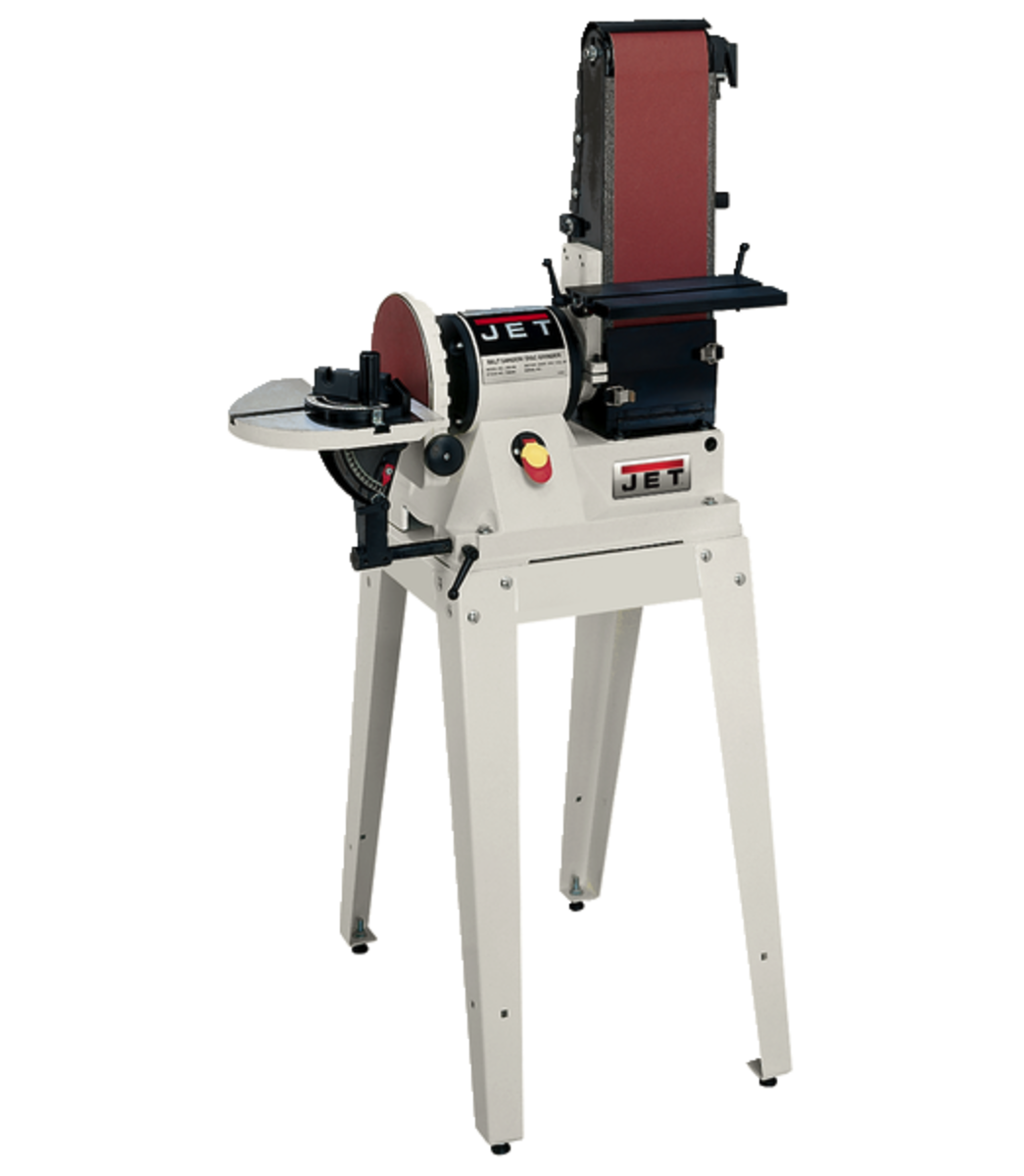 "JSG-96OS, 6"" x 48"" Belt / 9"" Disc Sander with Open Stand, 3/4HP 1Ph, 115V"