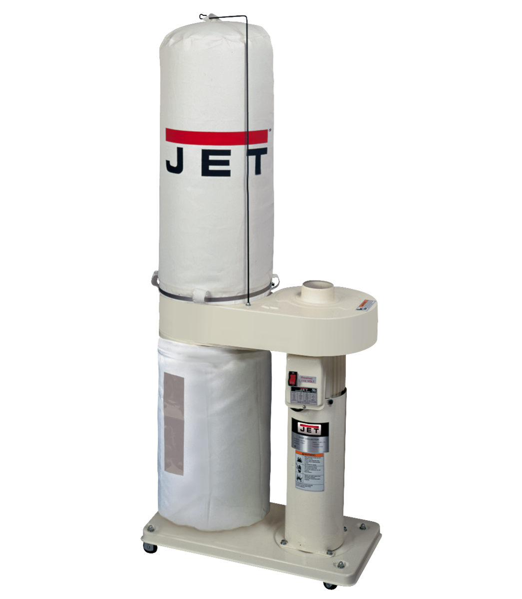 DC-650 1HP Dust Collector with 30 Micron Filter Bags