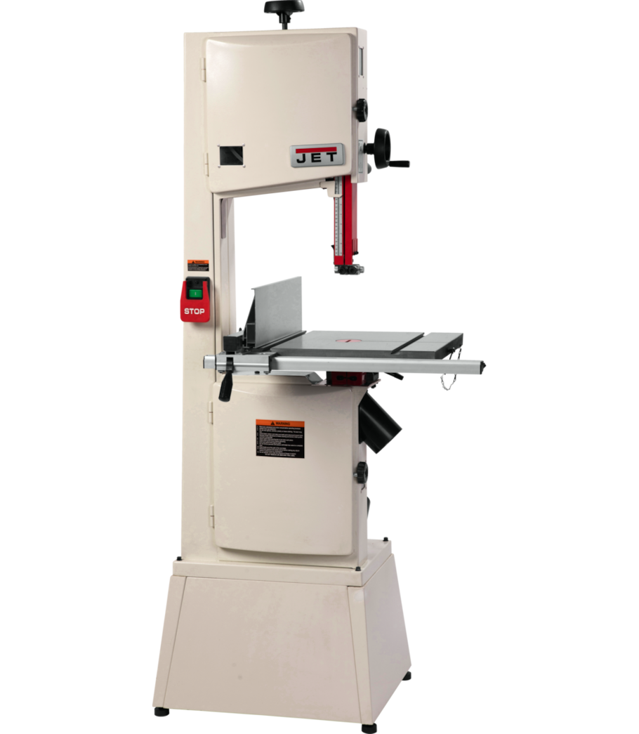 Jet 14 1 3 4hp Bandsaw With Machined Aluminum Fence System Jet Woodworking Tools