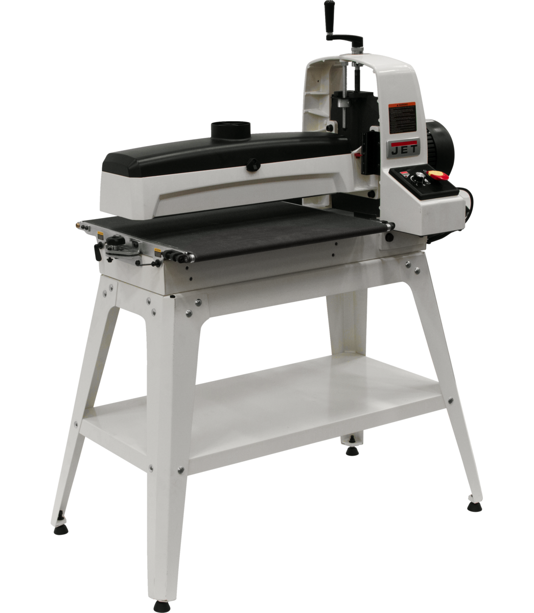JWDS-2550 Drum Sander With Open Stand