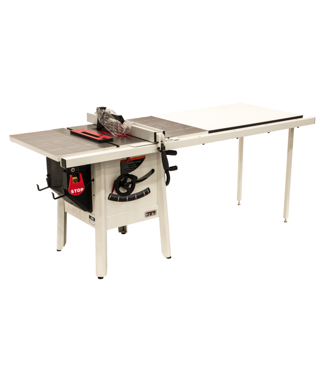 "The JPS-10 1.75 HP 230V 52"" Proshop Tablesaw with Steel wings"