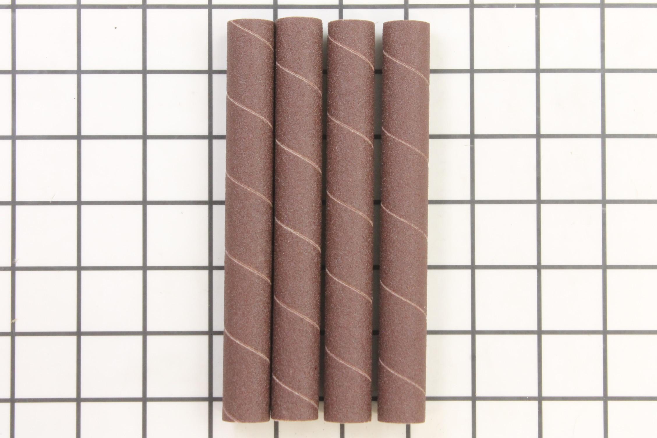 """Sanding Sleeves, 5/8""""x6"""", 100 Grit (4 pack)"""