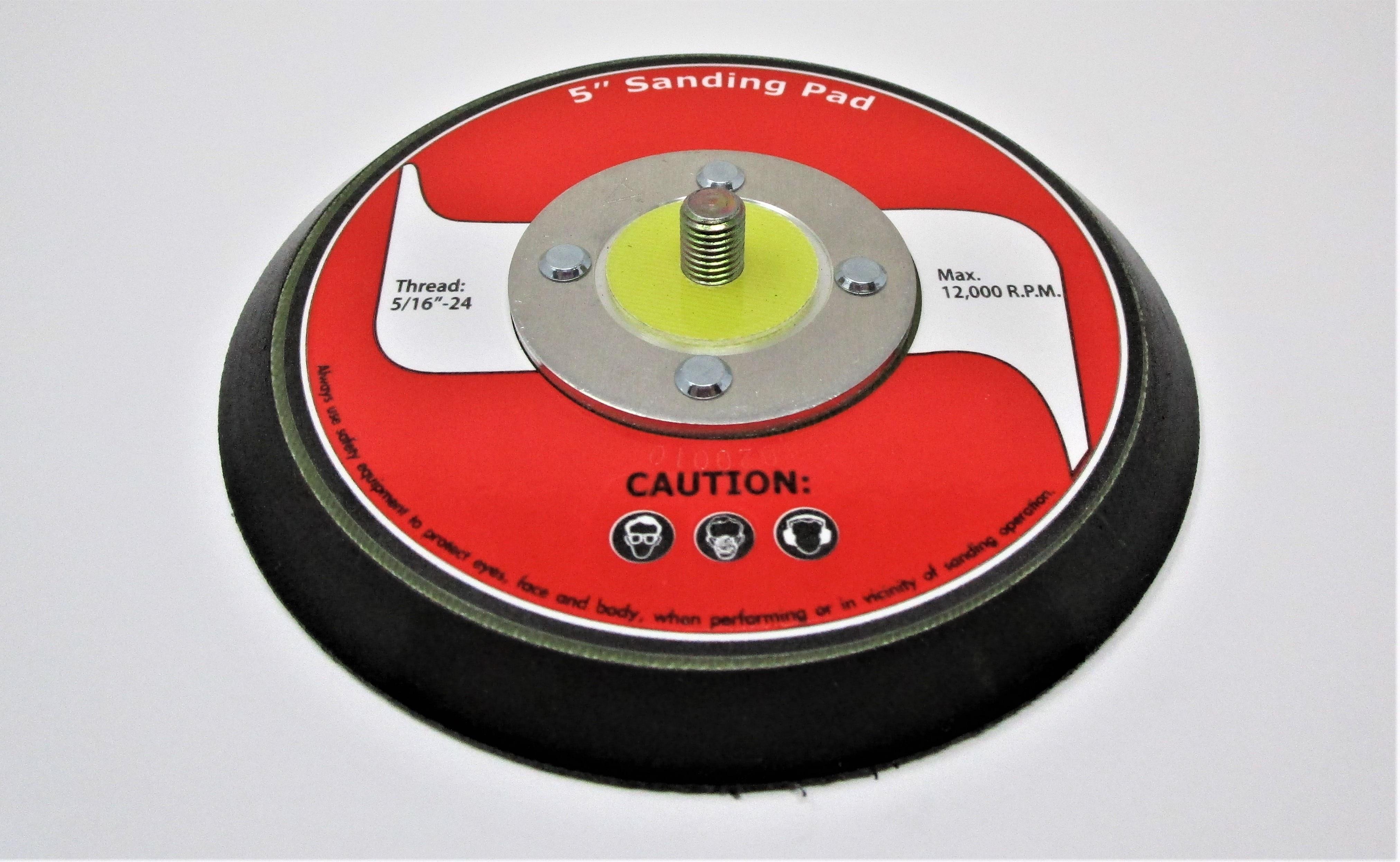 """JAT-730, HOOK & LOOP 5"""" SANDING PAD"""