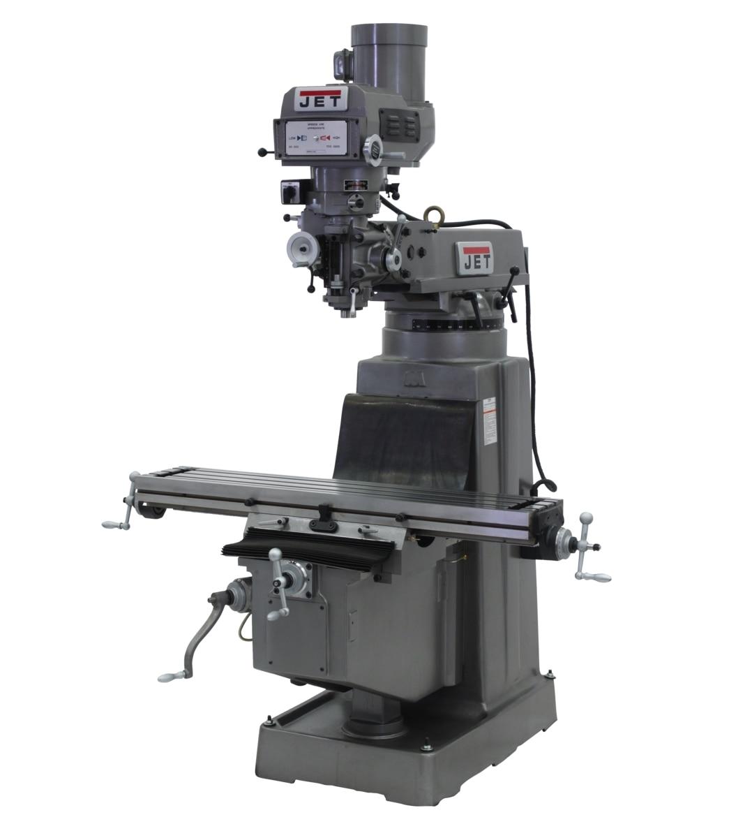 JTM-1050VS2 Variable Speed Vertical Milling Machine 230/460V 3Ph