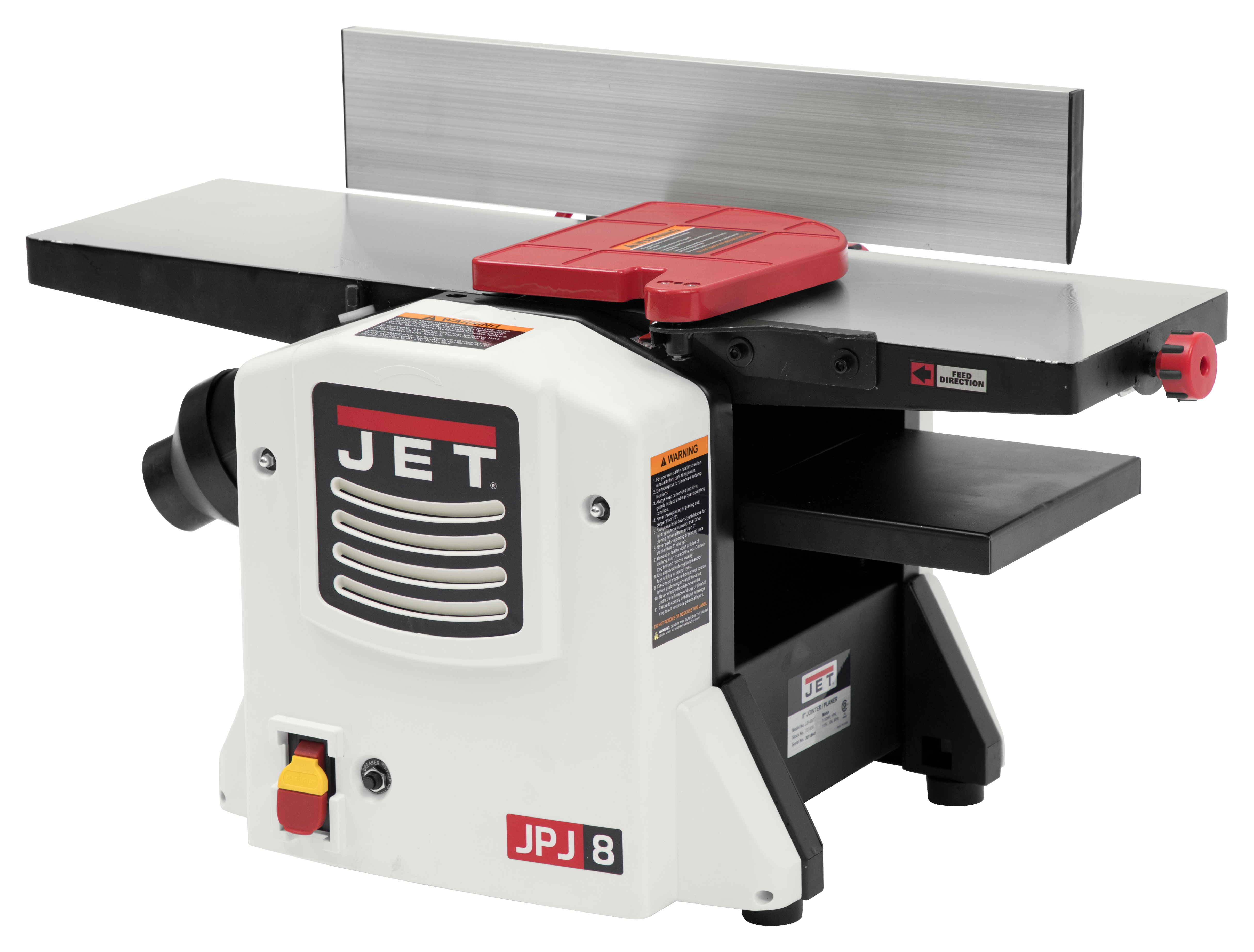 "JJP-8BT, 8"" Jointer / Planer Combo"