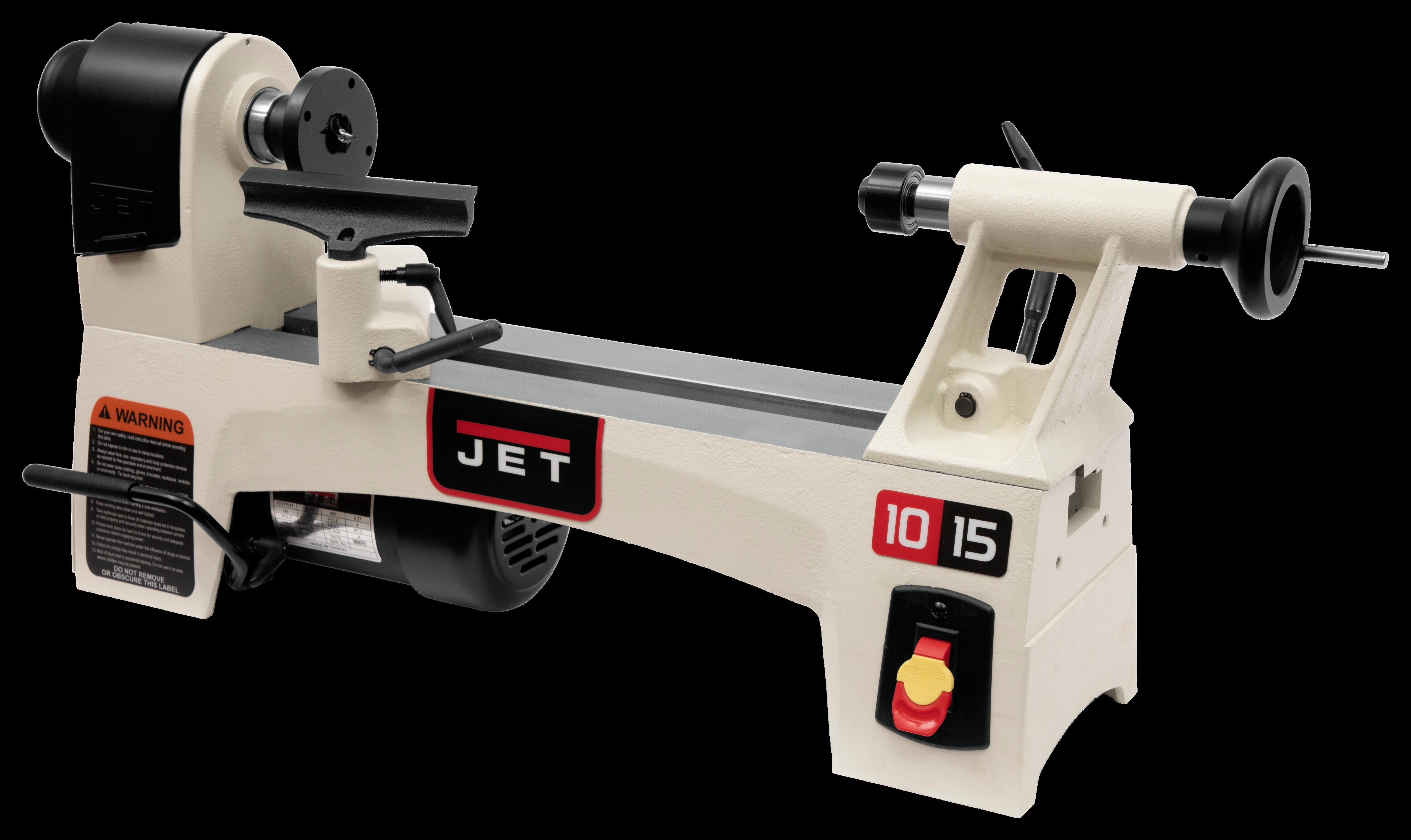 JWL-1015 10'' x 15'' Wood Lathe