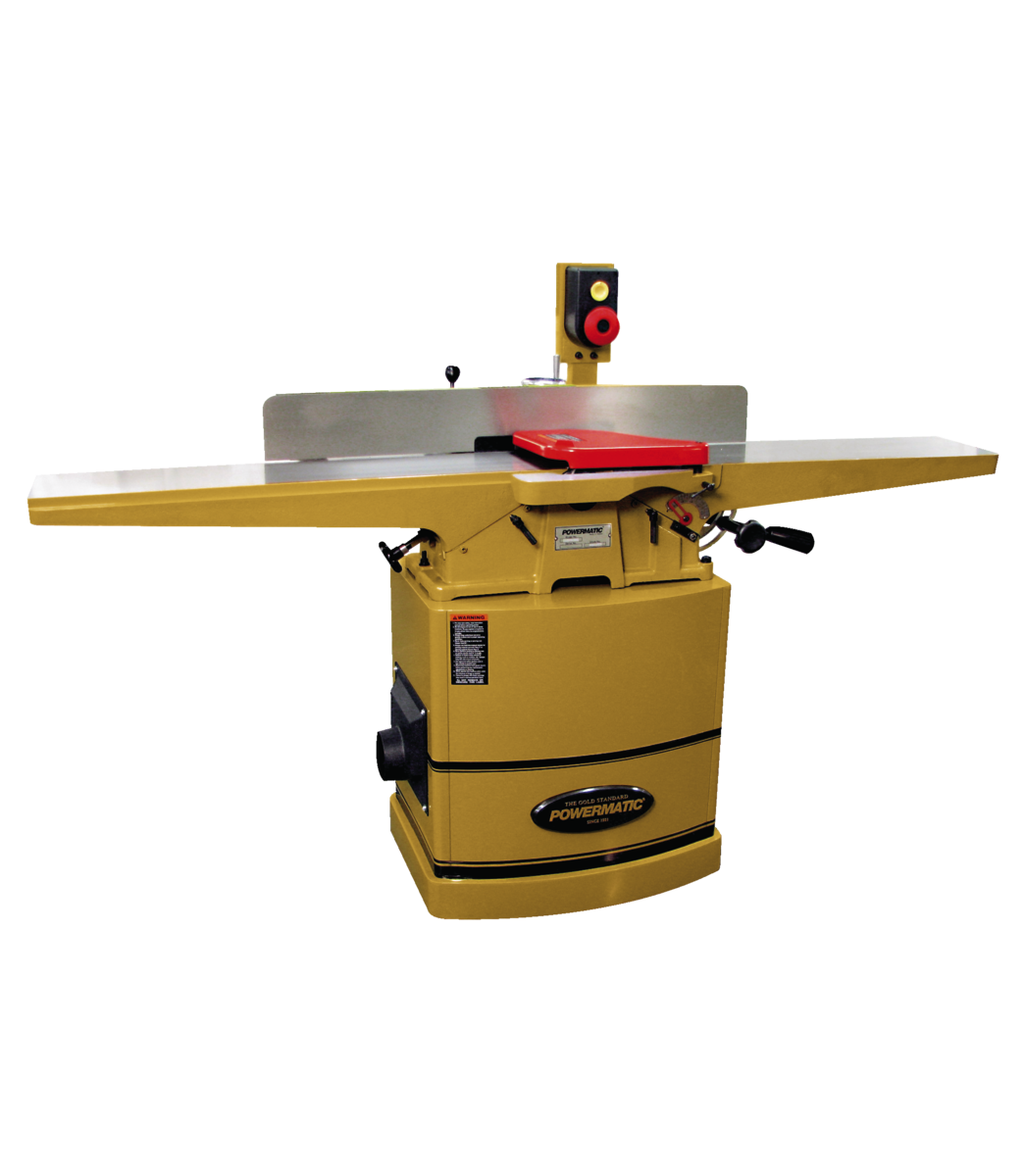 "60HH 8"" Jointer, 2HP 1PH 230V, Helical Head"