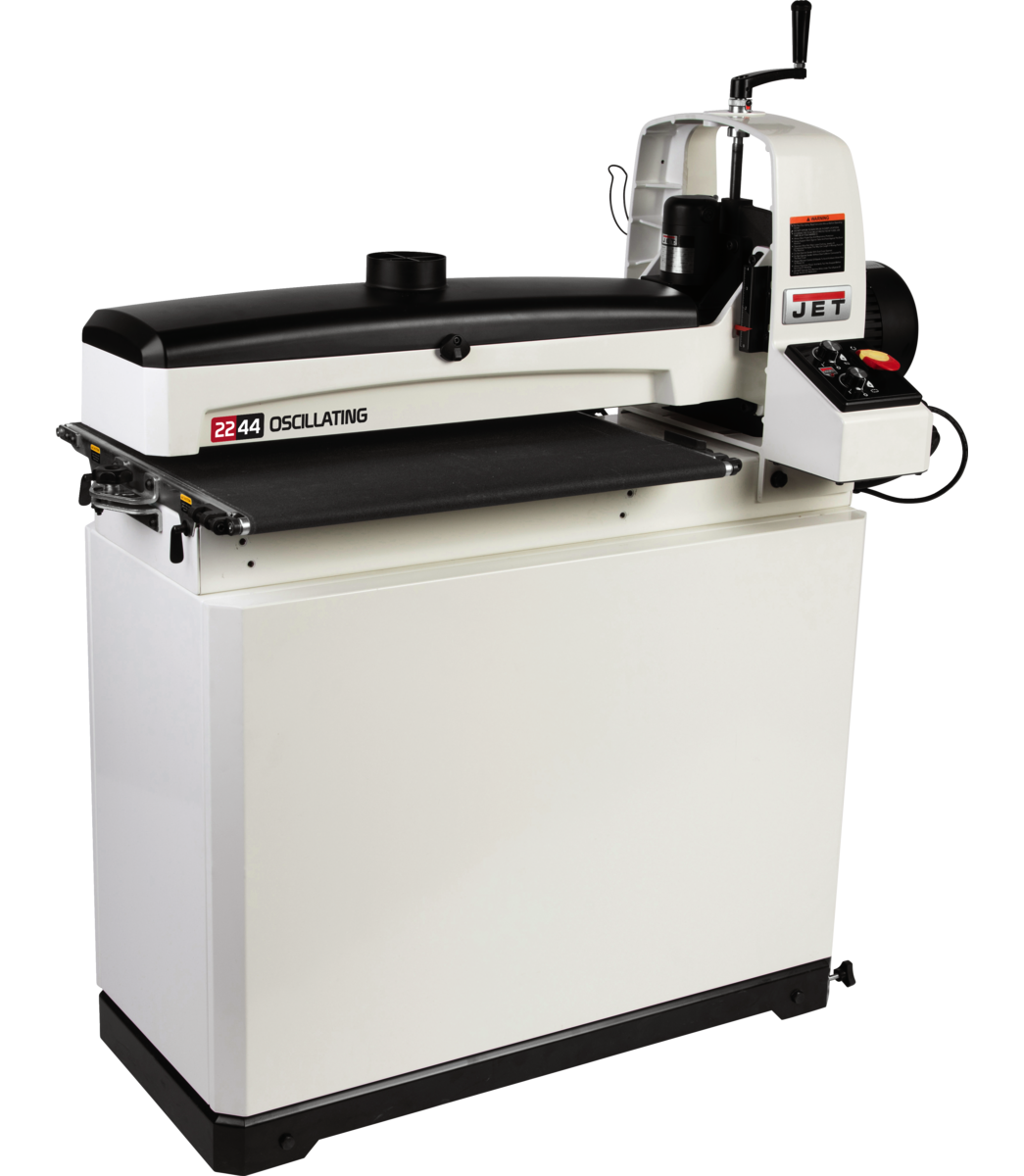 JWDS-2244OSC Oscillating Drum Sander With Closed Stand