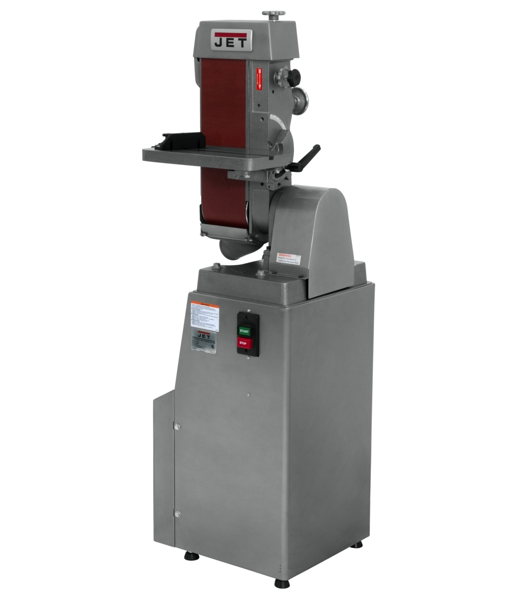 "J-4301A, 6"" x 48"" Industrial Belt Finishing Machine 3Ph"