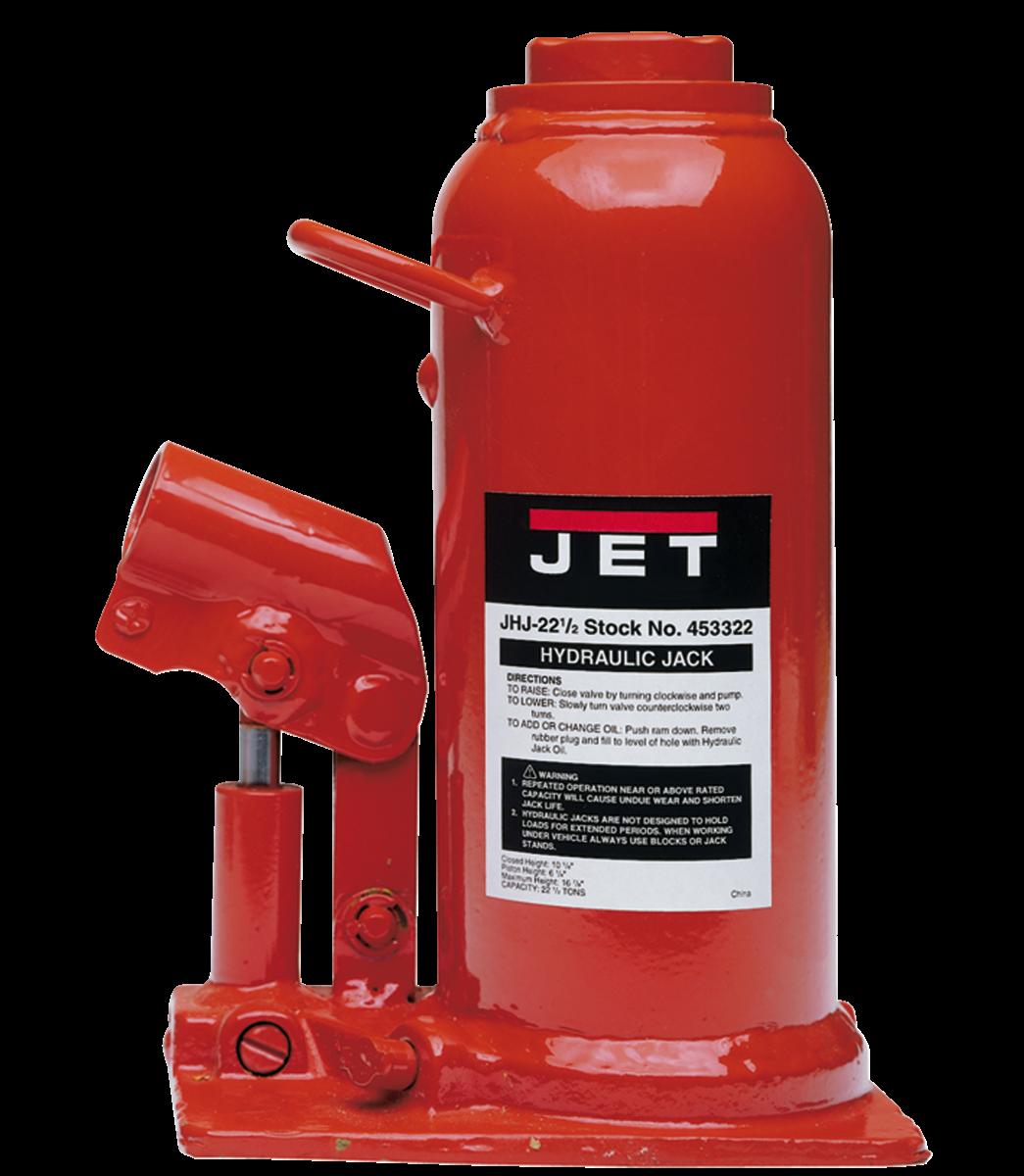JHJ-22-1/2, 22-1/2-Ton Hydraulic Bottle Jack
