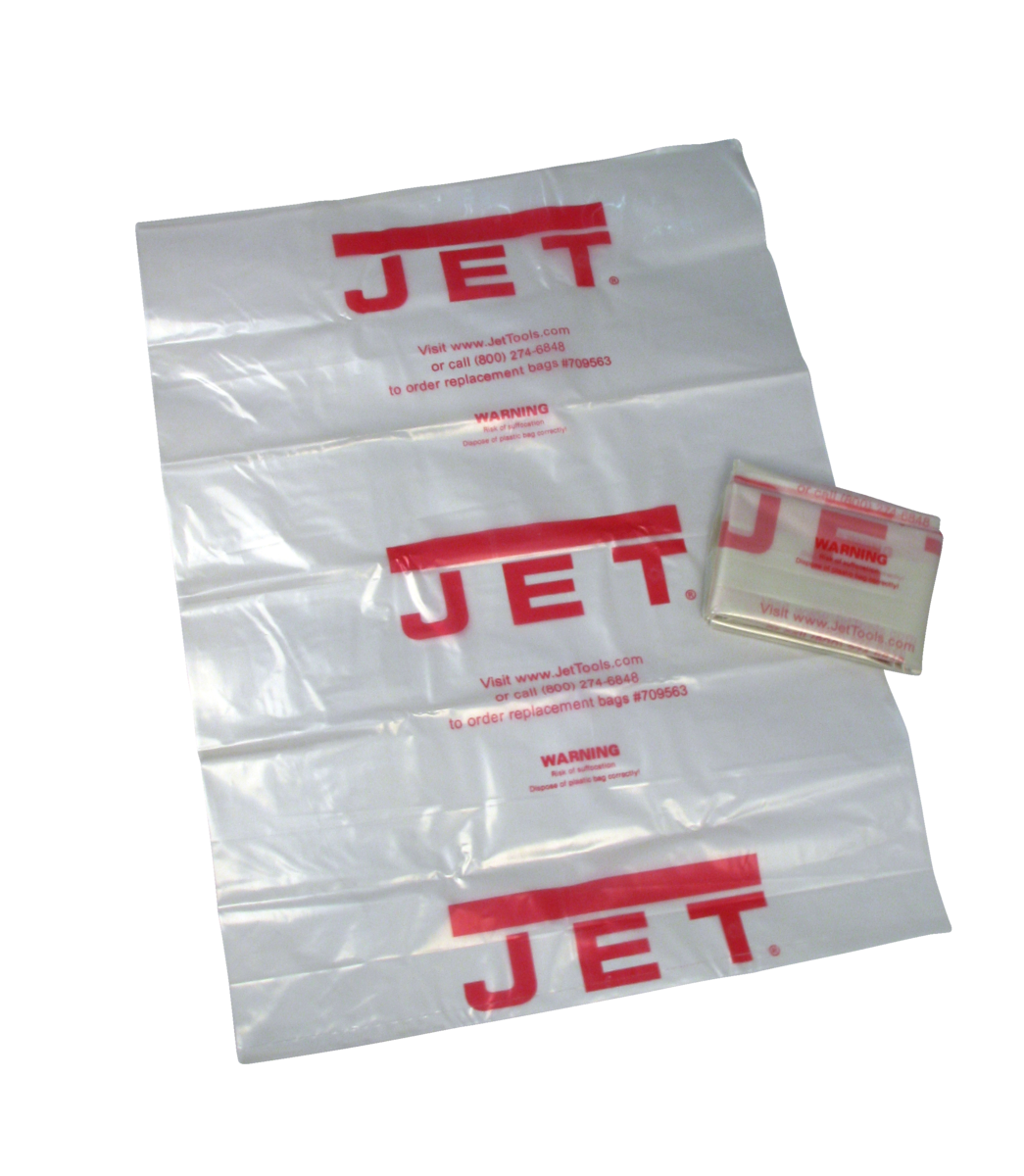 Clear Plastic Drum Collection Bag for JCDC-3