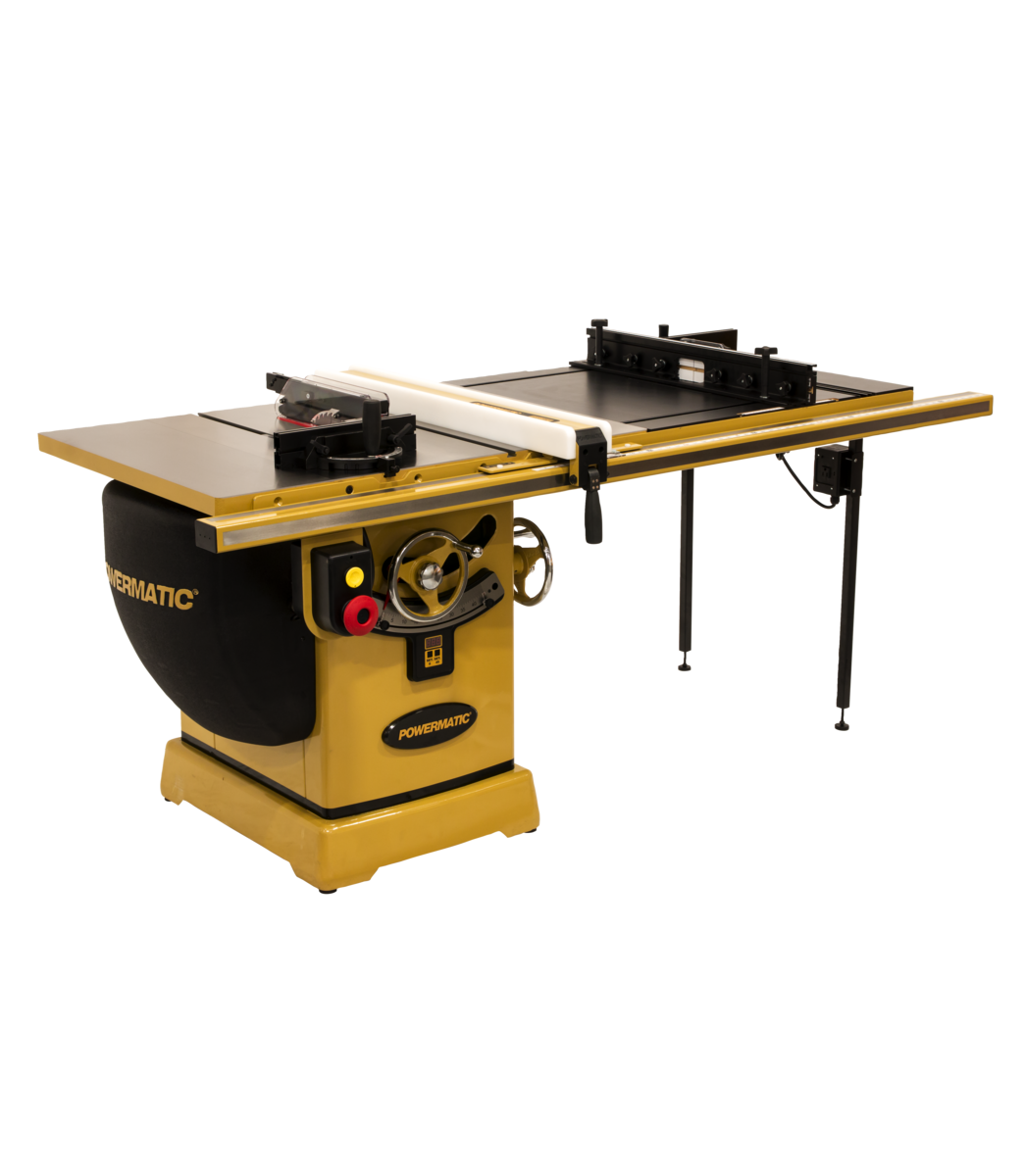 """2000B table saw - 5HP 3PH 230/460V 50"""" RIP w/Accu-Fence & Router Lift"""