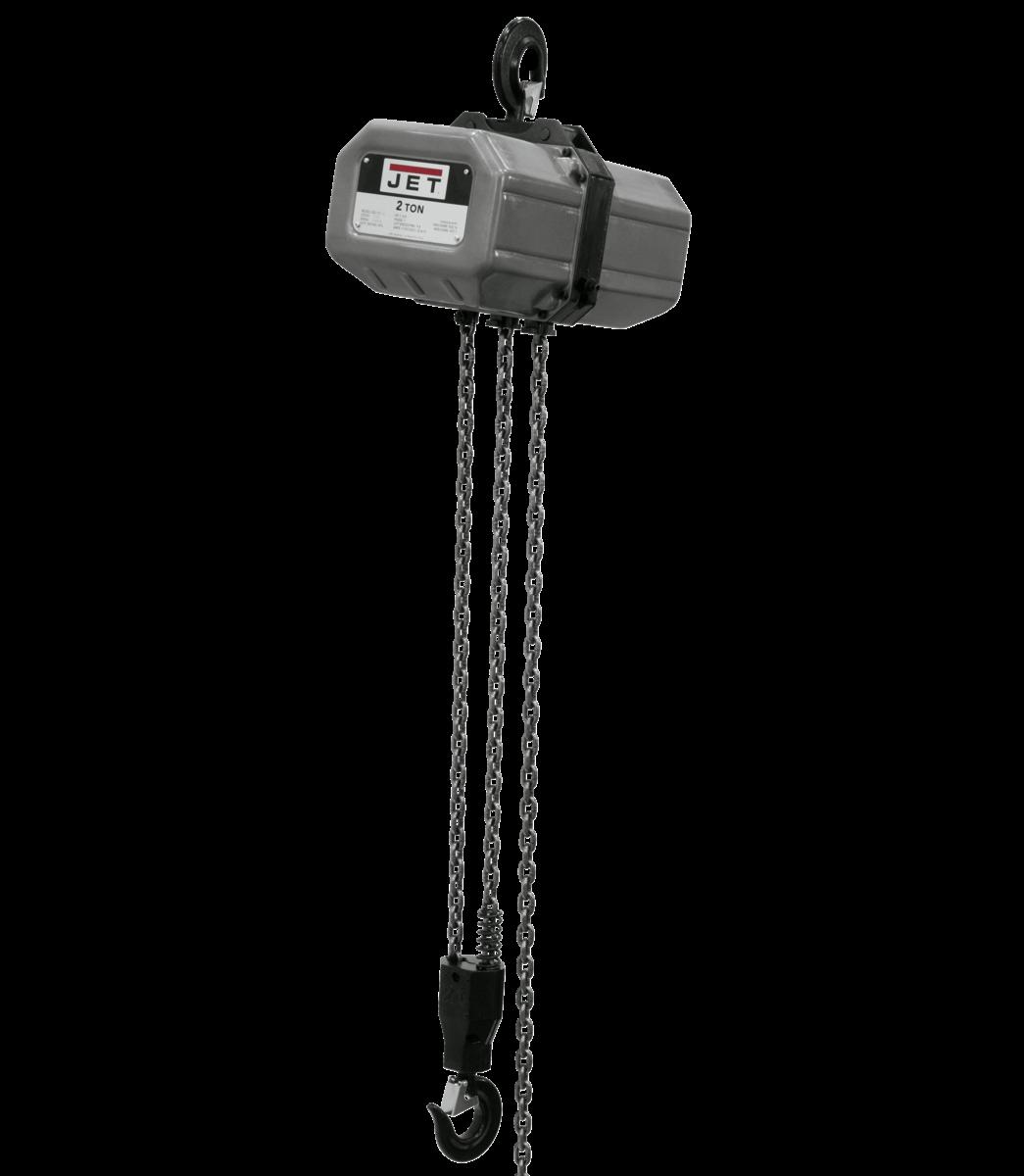 2SS-3C-10, 2-Ton Electric Chain Hoist 3-Phase 10' Lift