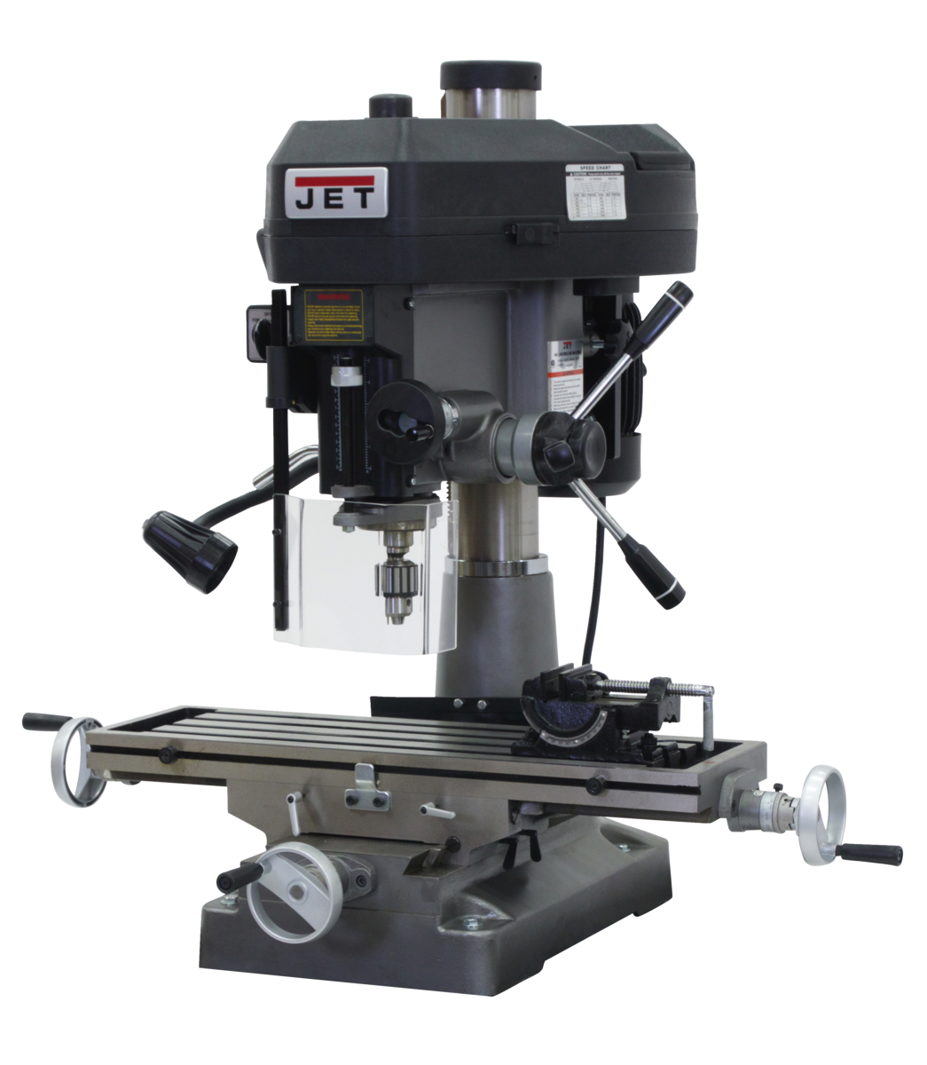 JMD-18 Mill/Drill With X-Axis Table Powerfeed