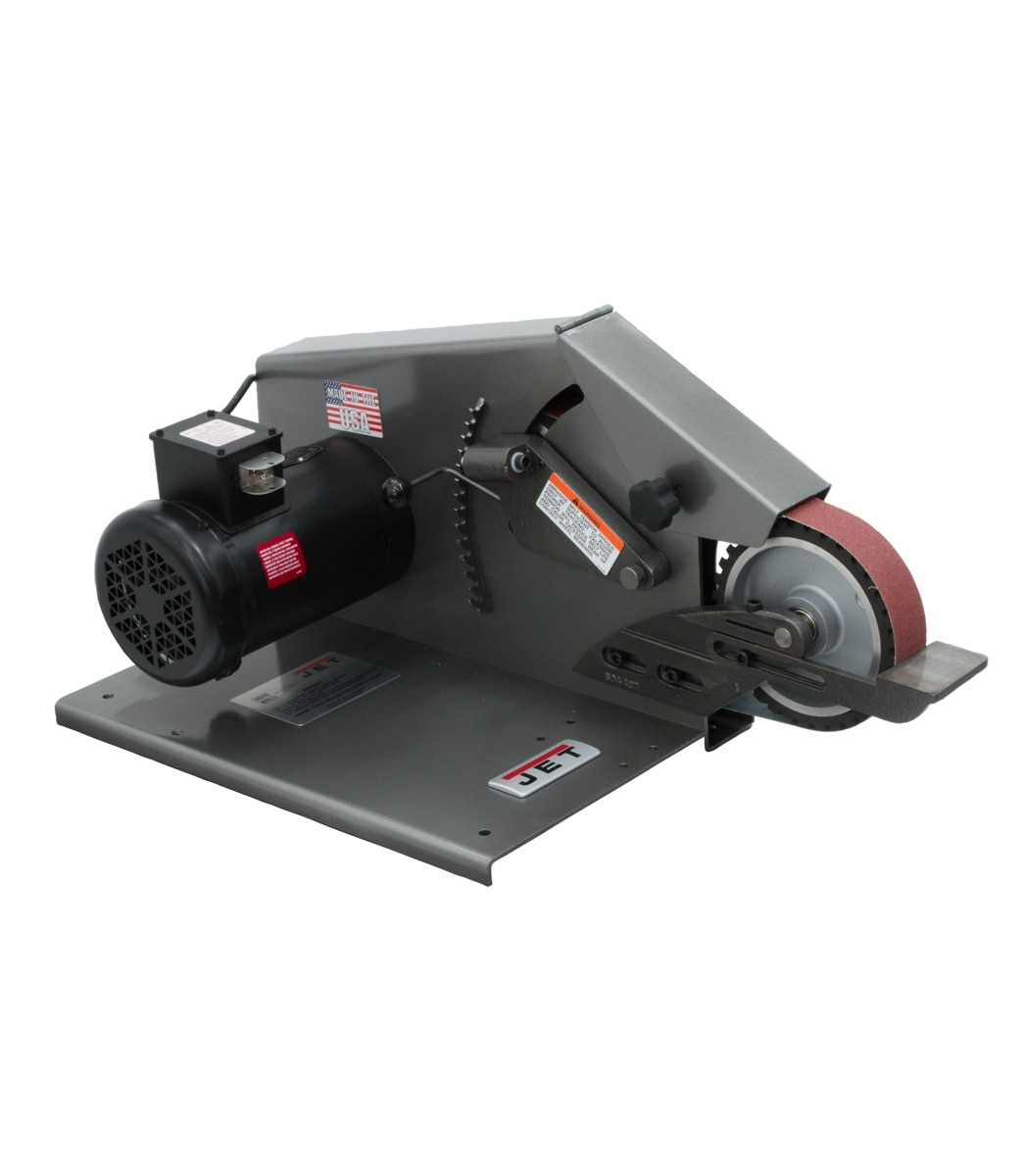 J-4103 2 x 72 Square Wheel Belt Grinder 115V 1Ph