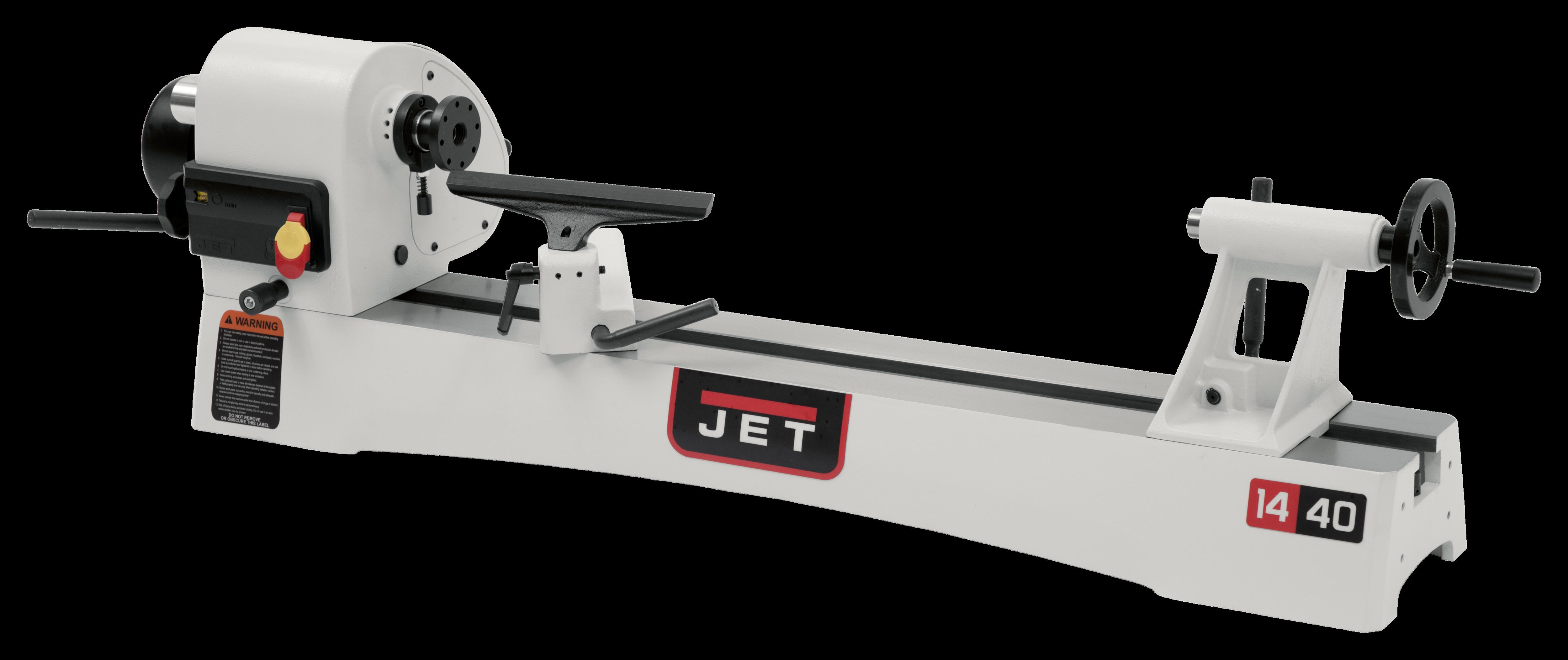 """JWL-1440VS 14"""" x 40"""" Benchtop Wood Lathe"""