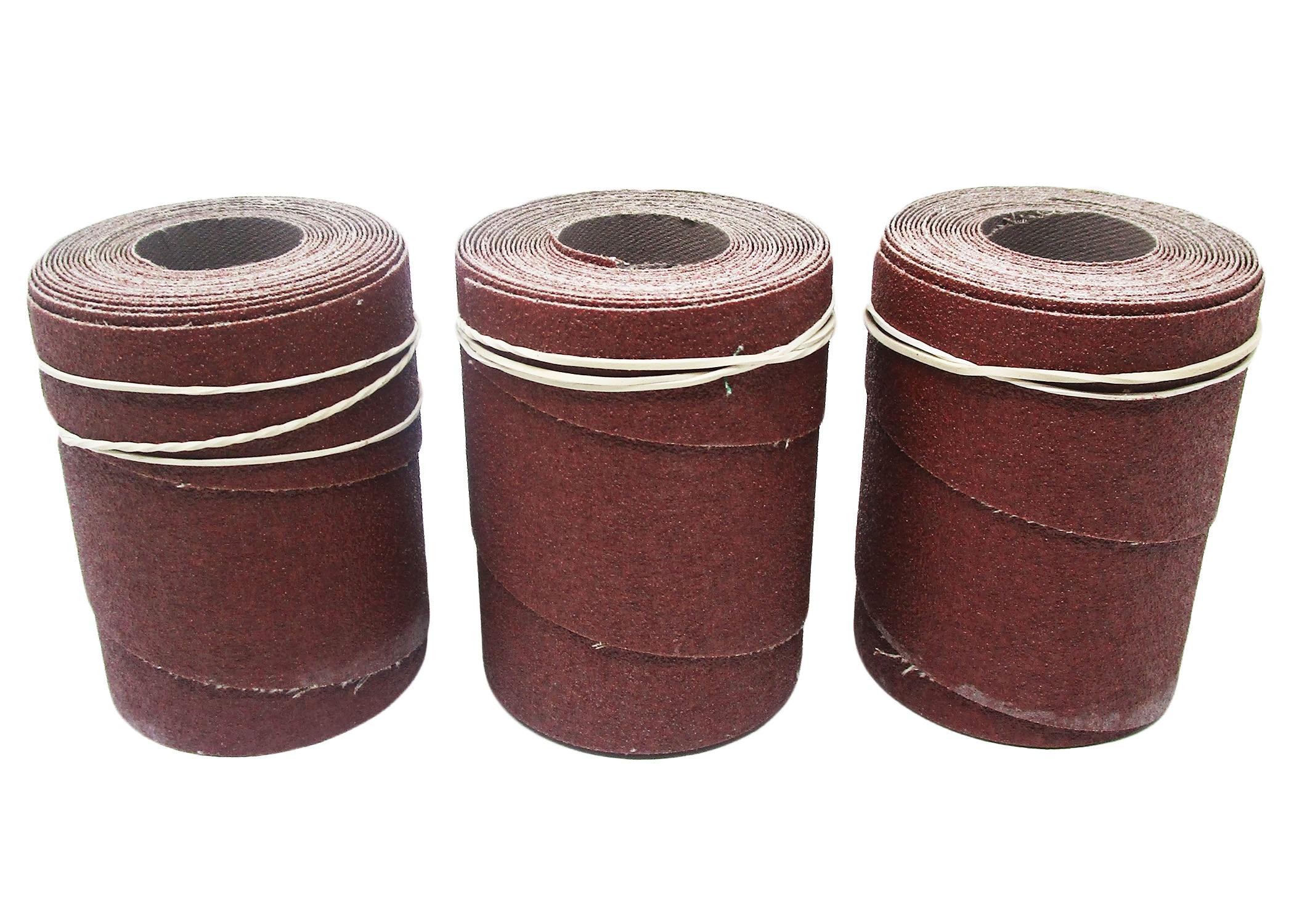 PM2244 Precut Abrasive, 80 Grit - 3 Pack