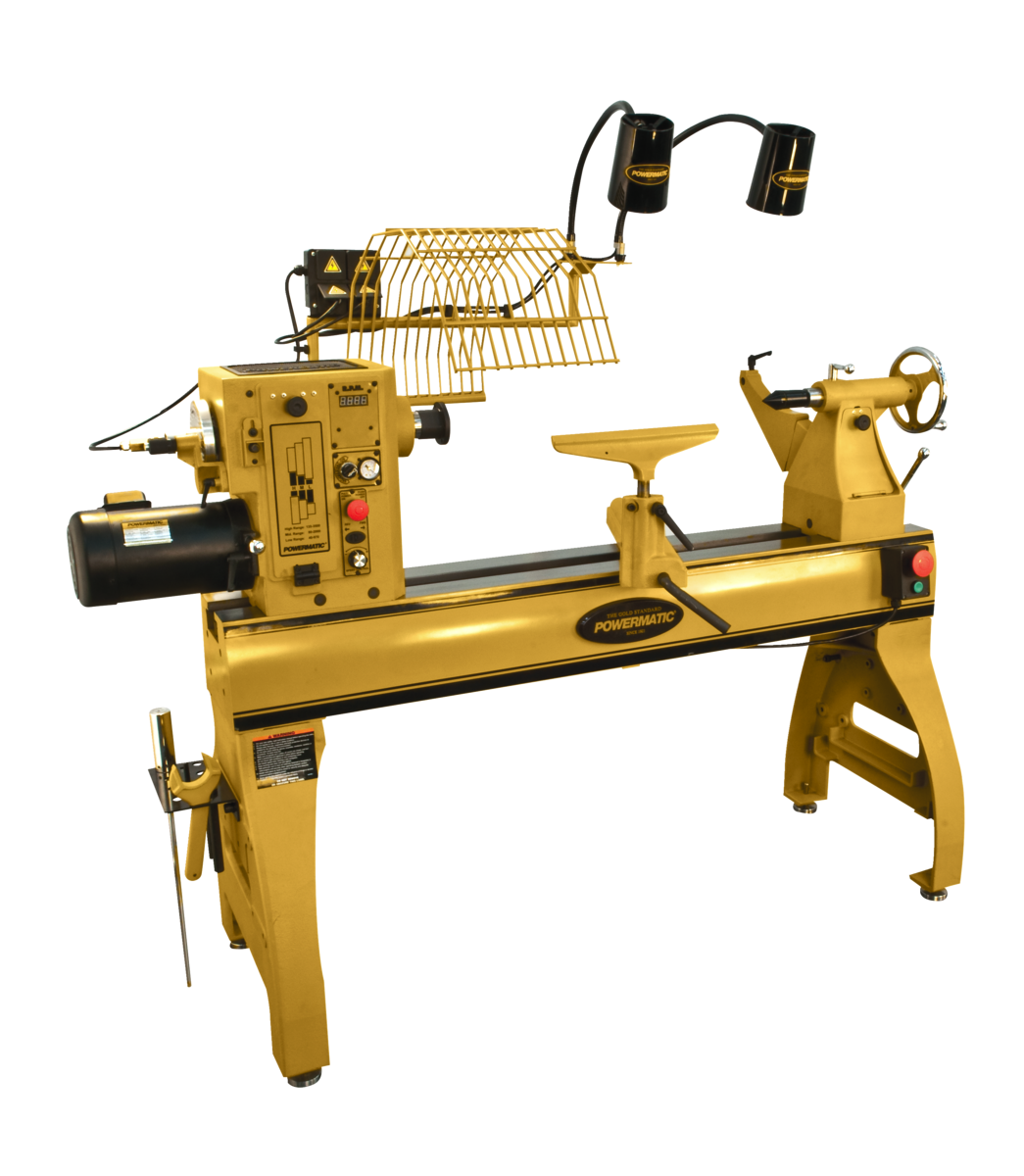 Manual: 4224B Lathe with Lamp Kit