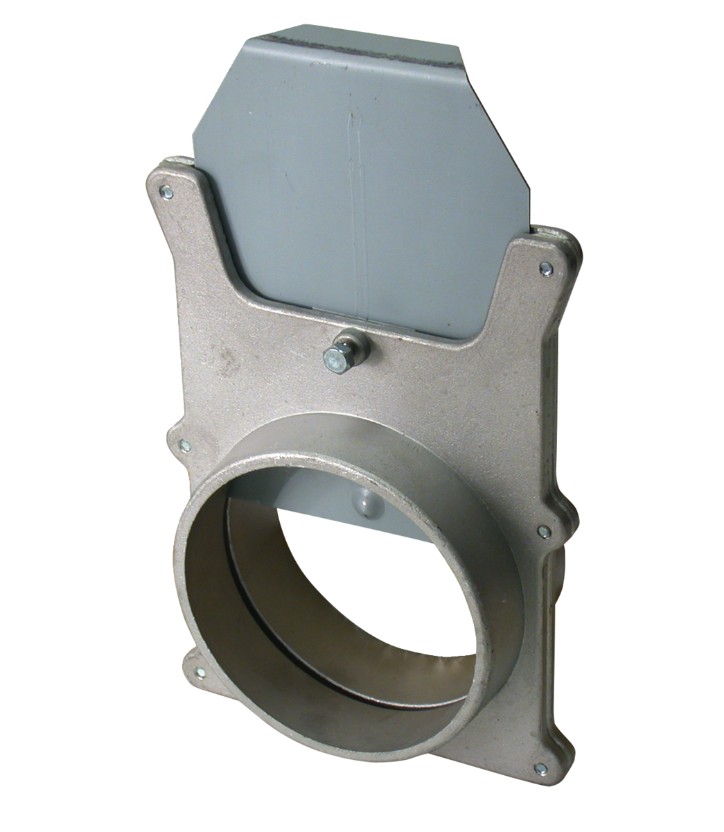 "4"" Aluminum Blastgate for JET Dust Collectors"