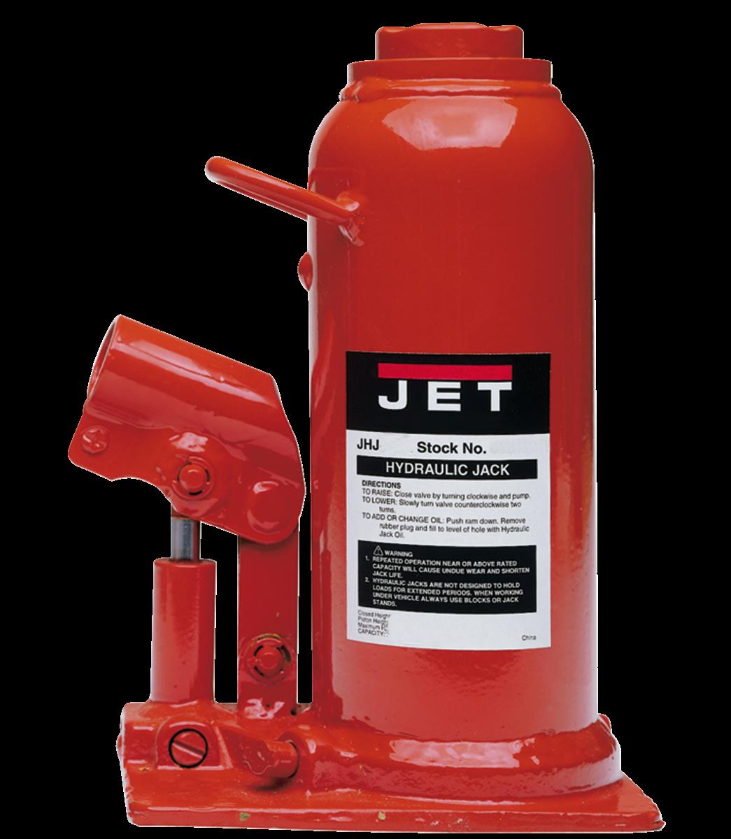 JHJ-8, 8-Ton Hydraulic Bottle Jack