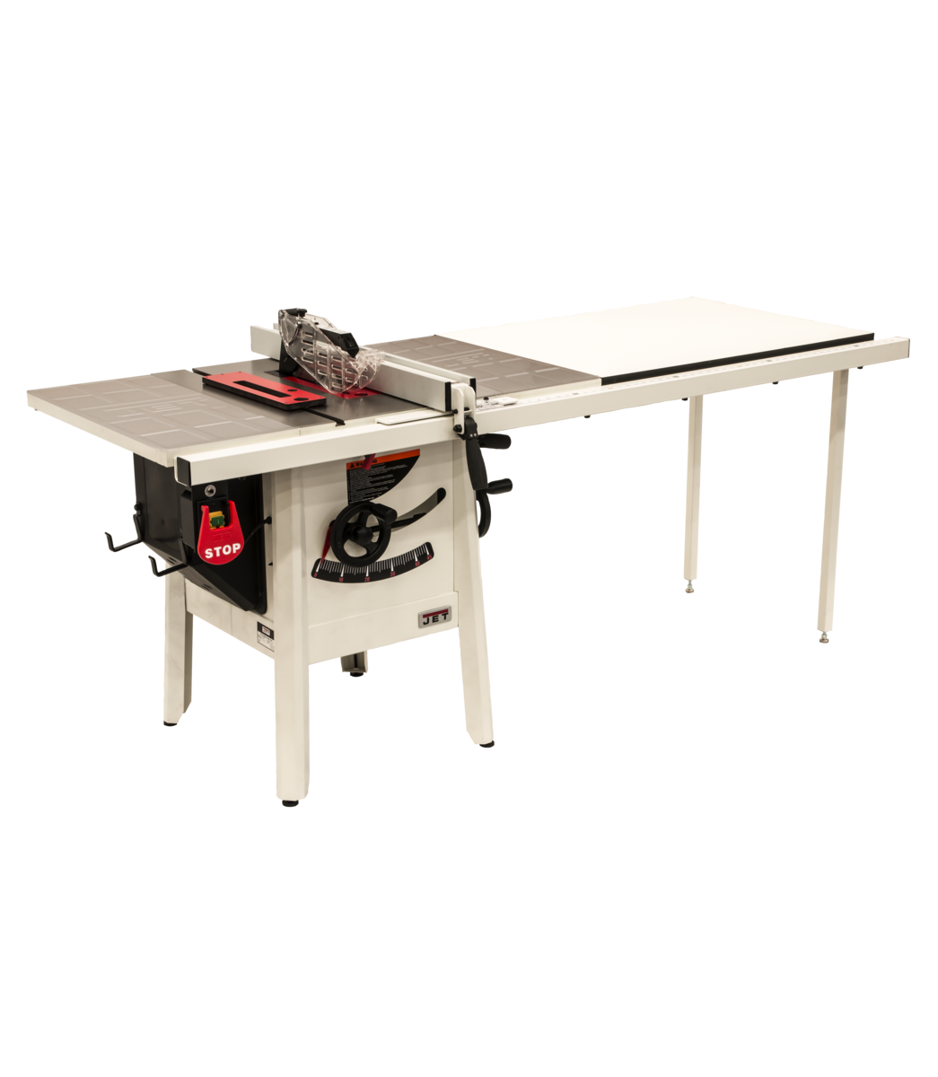 "The JPS-10 1.75 HP 115V 52"" Proshop Tablesaw with Steel wings"