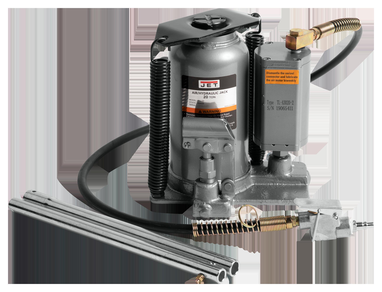 AHJ-20, 20-Ton Air / Hydraulic Bottle Jack