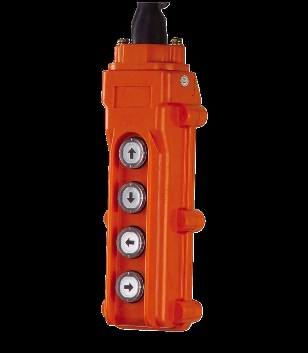 PBC-410CN, 4 Button Control Pendant 10' Cord