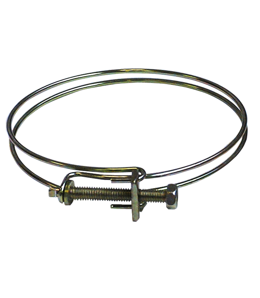 "4"" 2 RING HOSE CLAMP"