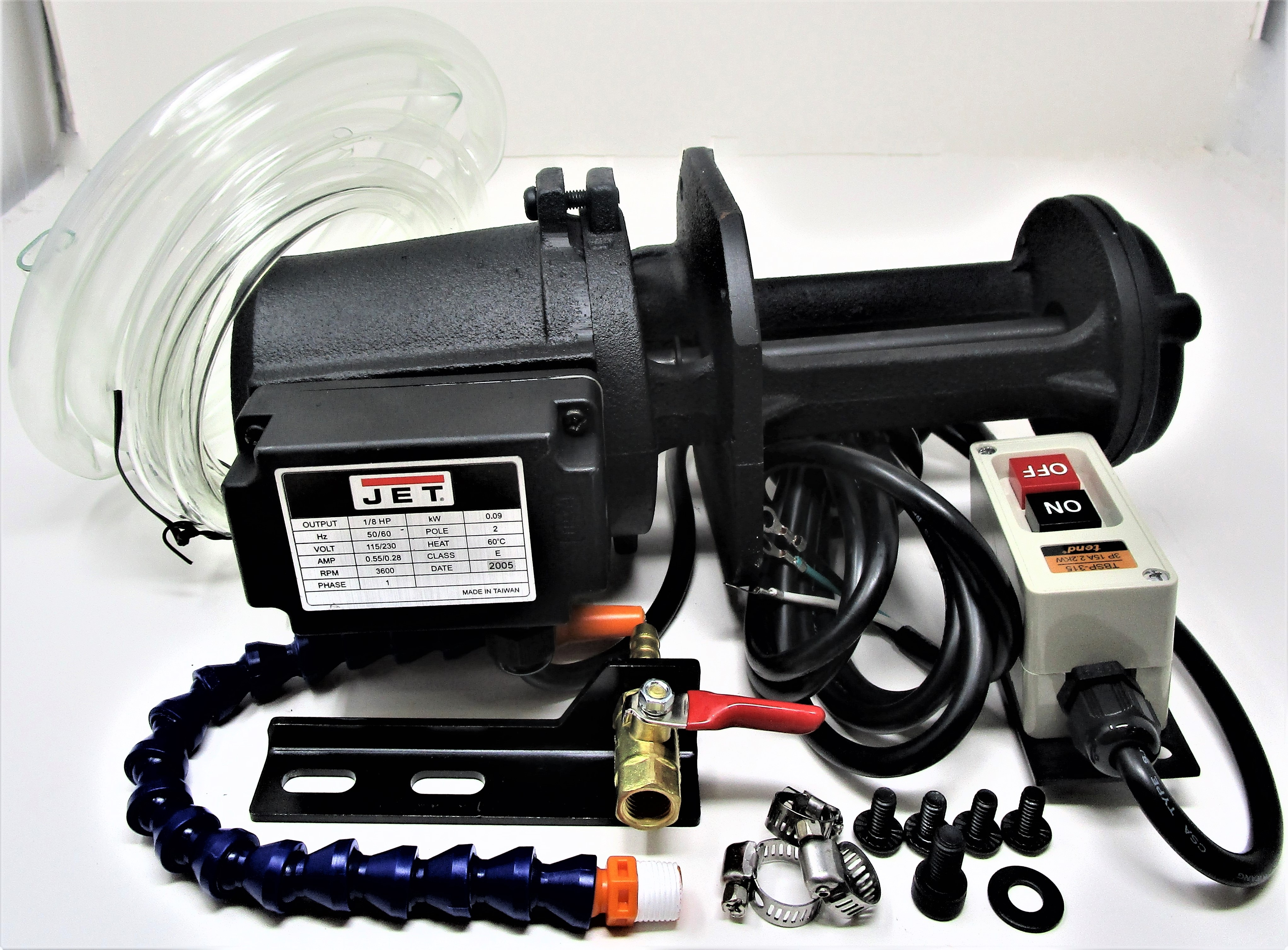 Coolant System 1/8 HP, 115/220V, 1 Ph