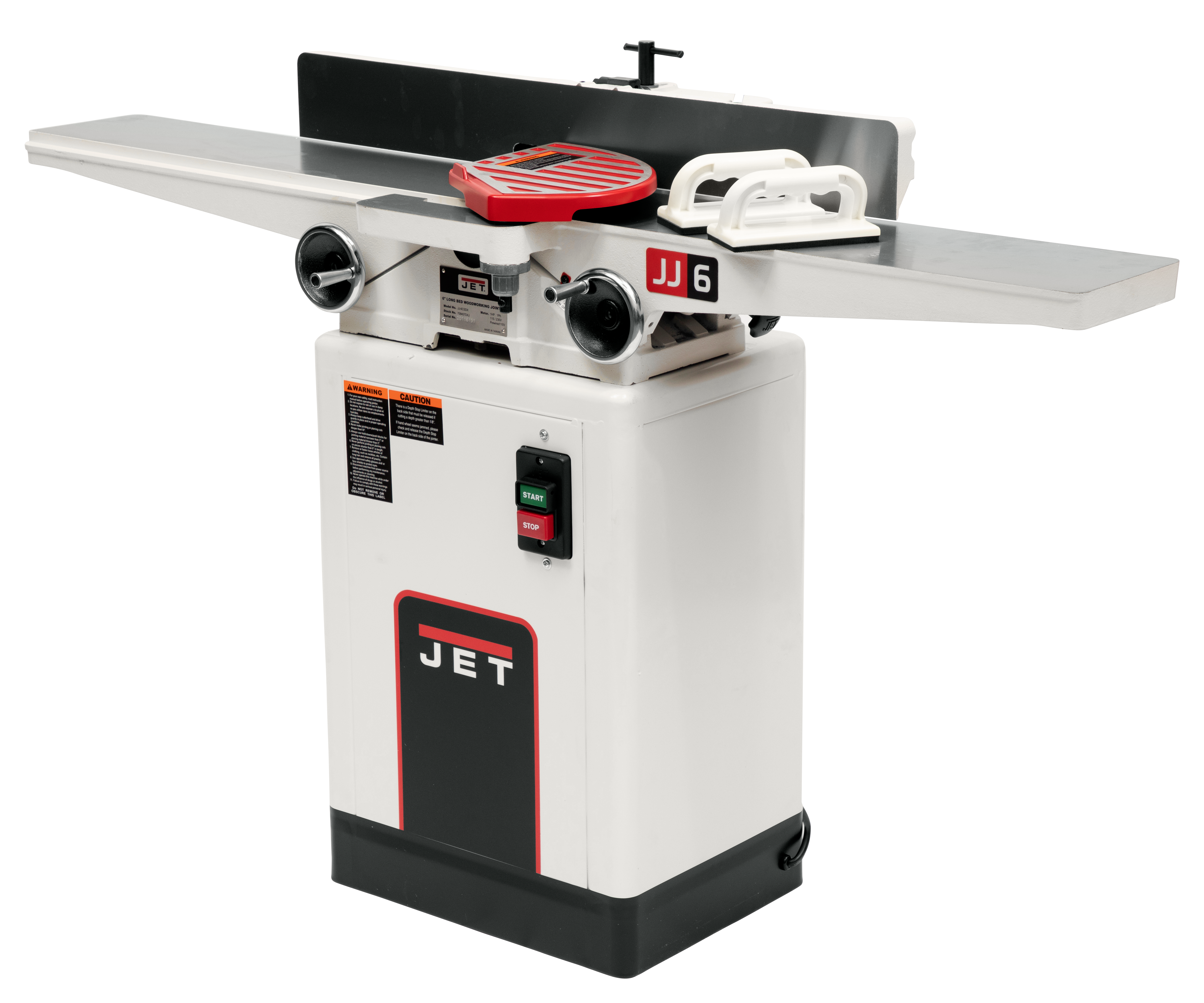"""JJ-6CSDX, 6"""" Deluxe Jointer with QS Knives"""