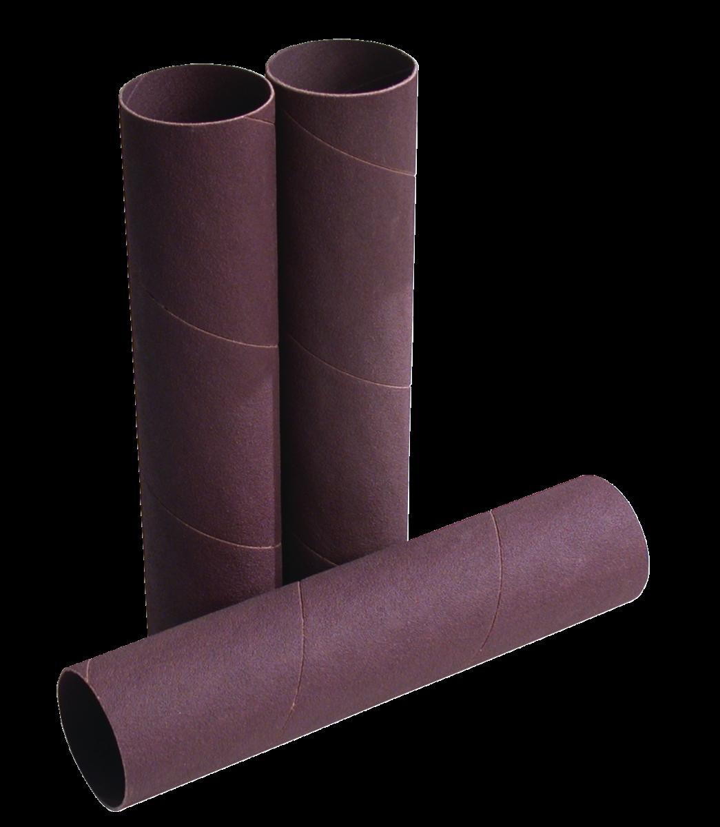 """1/2""""x6"""" 100 Grit Sanding Sleeves, 4 Pack"""