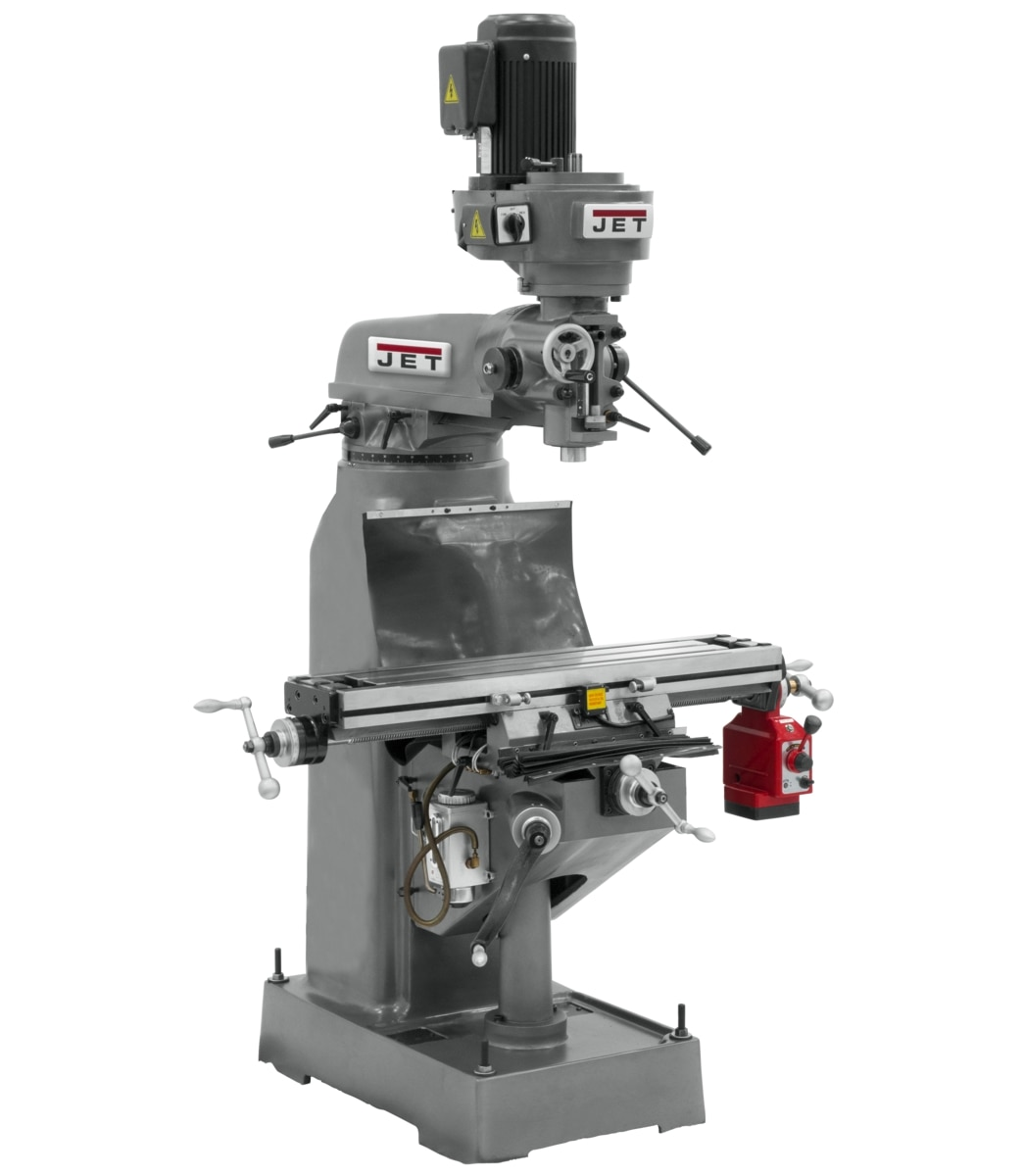 JTM-1 Step Pulley Milling Machine 230V 3Ph