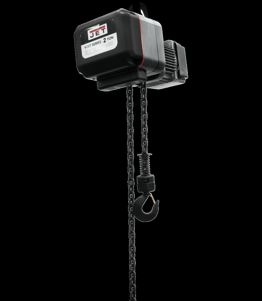 VOLT 2T VARIABLE-SPEED ELECTRIC HOIST 3PH 460V 20' LIFT