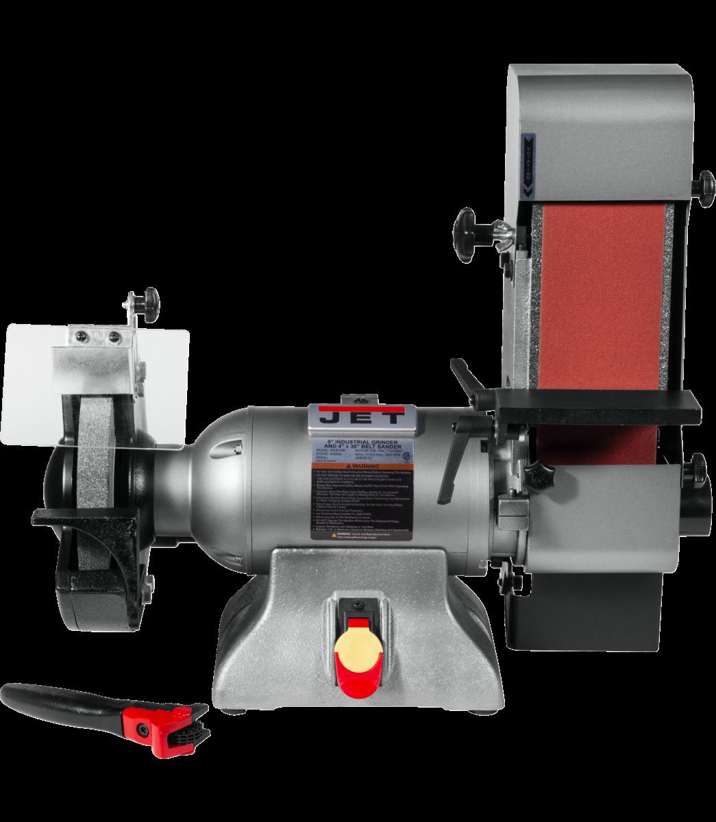 IBGB-436 8-Inch Industrial Grinder and  4 x 36 Belt Sander