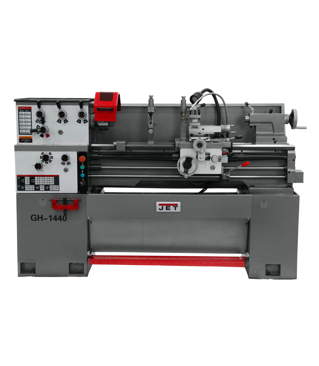 GH-1440-1 Lathe with Acu-Rite 203  DRO and Taper Attachment