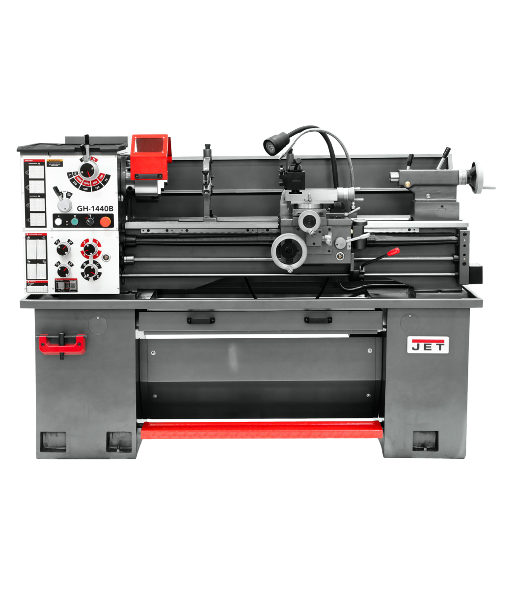 GH-1440B  Geared Head Bench Lathe