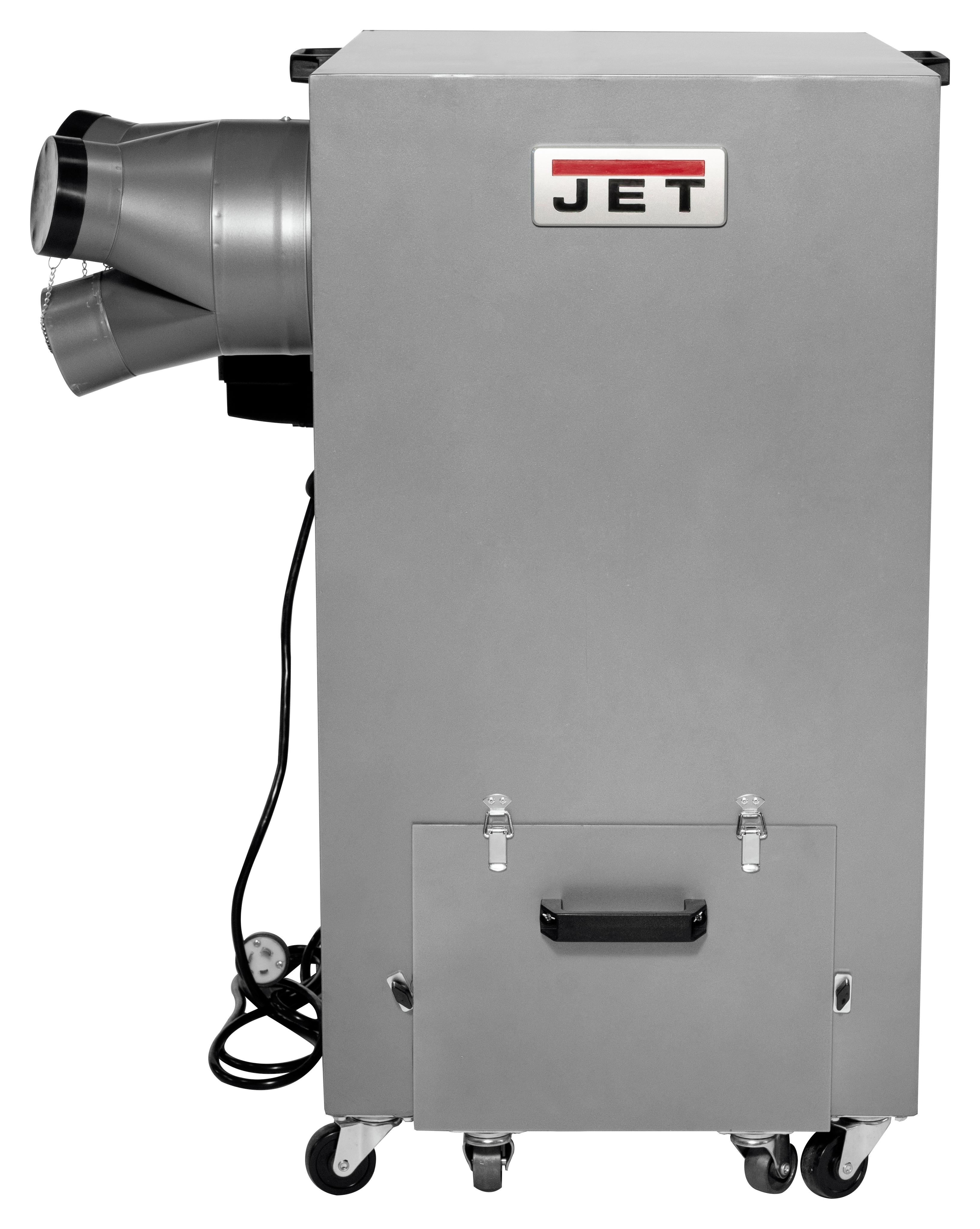 JDC-510  1500CFM Industrial Dust Collector  3HP, 220V, Single Phase