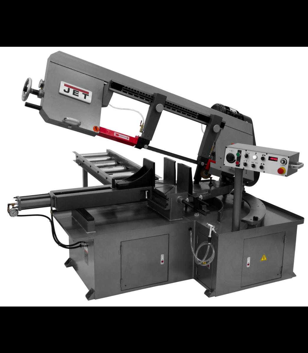 MBS-1323EVS-H-4, Semi-Automatic Dual Mitering Bandsaw 3HP 460V3HP 460V, 3-Ph